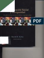 Kerbo, Harold - Estratificación Social y Desigualdad