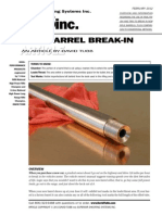 Barrel Break-In New