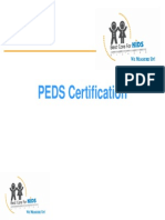 PEDS Certification for AZPediaLearning