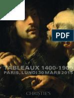 Tableaux 1400-1900