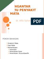 Pengantar Mata dr Alfa.