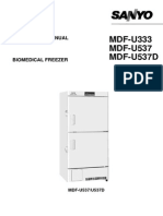Sanyo MDF U333 Instructions