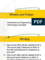 Mechanical Principles 2 - Wheels and Pulleys REVISED
