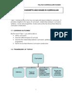 Curriculum Studies Module8