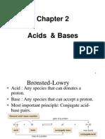 Chapter 2 Acid Base