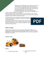Grader Adalah Mesin Multiguna Terutama Digunakan Untuk Konstruksi Umum Dan Pemeliharaan Jalan Dan Landasan Pacu