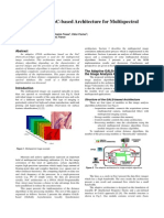 Adaptive FPGA NoC-based Architecture for Multispectral Image Correlation