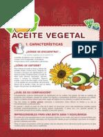 Carpeta Del Reciclaje - Ficha - Aceite Vegetal
