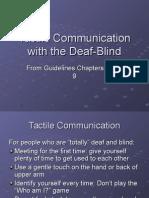 Tactile Communication
