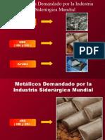 Siderurgia de Aceros Al Carbono Aceracion Materias Primas 2014