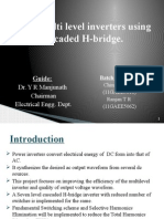 Cascaded H-Bridge Multilevel inverters