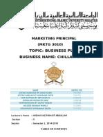 Business Plan (Chillax Shop)