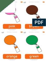 i See Something Pink Flashcards