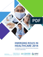 Survey Emerging Roles in Healthcare 2014