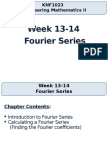 Week13-14 - Fourier Series