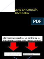 Arritmias en Cirugía Cardiaca