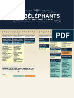Le festival les 3 Eléphants à la Laval (53) - la programmation 2015