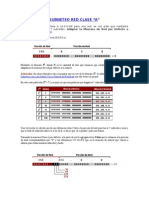 Subneteo Manual de Una Red Clase a, b, c