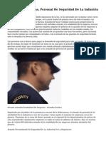 Todo Sobre Armadas, Personal De Seguridad De La Industria