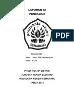 LAPORAN 12 (PENCACAH)