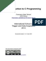 IntroToCProgramming_2014