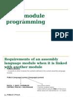 Cap 8 Multimodule Programming