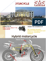 Hybrid Motorcycle Final Ppt