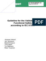NT TR 459_Guideline for the Validation of Functional Safety According to IEC 61508_Nordtest Technical Report