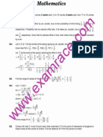IIT Mathematics 2005