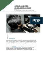 Perú Es El Octavo País Más Conectado a Las Redes Sociales