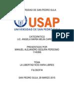 Manuel Segura 1140285 Trabajo Final