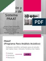 Descripción y Aplicación de Sistema PRAAT