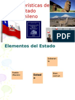 Características del Estado Chileno