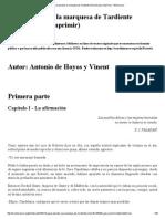 Antonio de Hoyos - El Gran Pecado, La Marquesa de Tardiente (29pp)