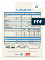 Ficha All New Mazda6 2015