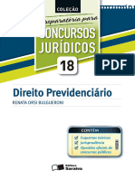 Direito Previdenciario - Vol. 18 - Renata Orsi Bulgueroni - 2012.epub