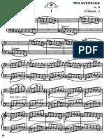 Bartok Burlesques Op. 8