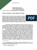 """Basañez el lugar epistemológico de """"lo económico"""" en Aristóteles"""
