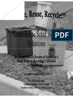 Sustainable Solid Waste Solutions
