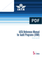 Iata Reference Manual for Audit Programs Ed 5