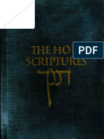 The Holy Scriptures According to the Masoretic Text 1917 with Navigational Bookmarks
