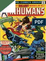 The Inhumans 1 Vol 1