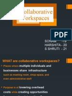 Collaborative Workspace Final Ppt