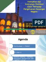 Kebijakan dan Instrumen Ekonomi Islam Terhadap Pengeluaran Keuangan Negara