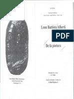 Nuevo Leon Battista Alberti, De La Pintura, México, UNAM, Facultad de Ciencias, 1996-67-122
