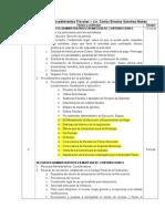 Procesos y Procedimientos Fiscales