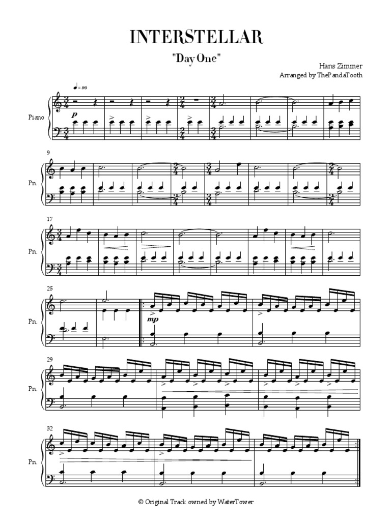 Extrêmement John Murphy - Sunshine (Adagio in D Minor) Piano Sheet Music KJ55