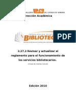 Lineamientos Para Bibliotecas COBACH