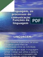 A Linguagem, Os Processos de Comunicação e Funções Da Linguagem