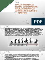 Evoluția Comerțului Internațional Contemporan